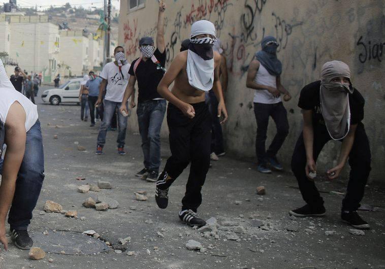 Gerusalemme scontri palestinesi
