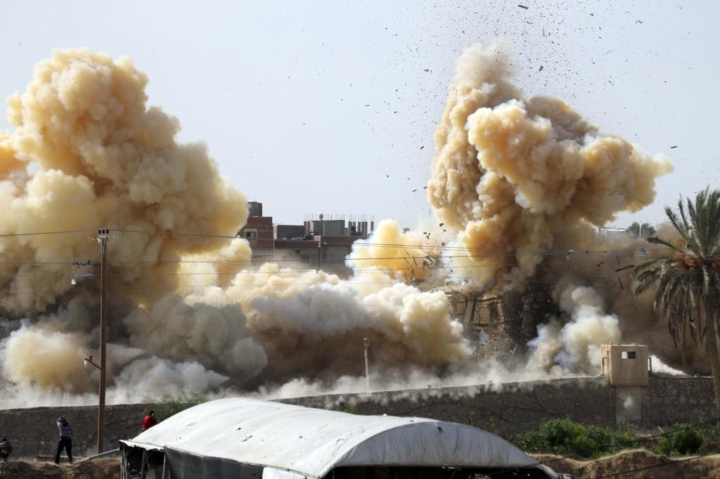 Confine Gaza Egitto
