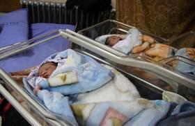 Ramallah bambino neonato palestinese