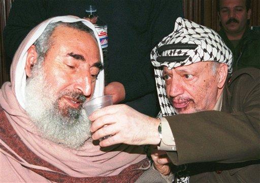 Yassin e Yasser Arafat