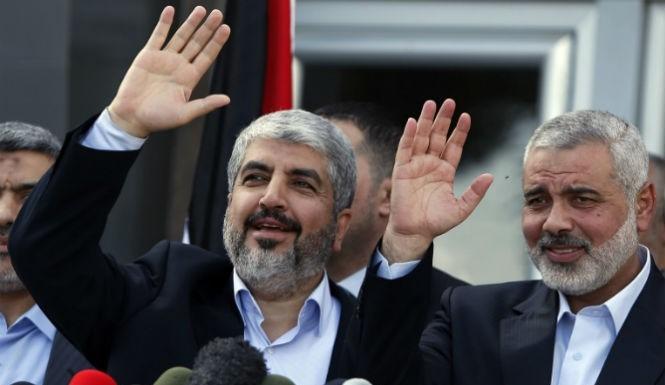 KHALED MESHAAL GAZA