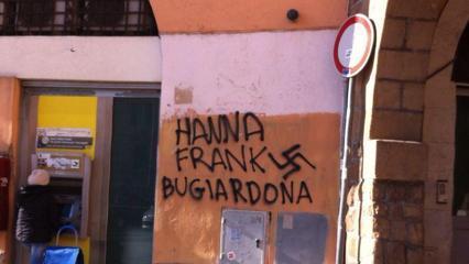 Scritte antisemite roma