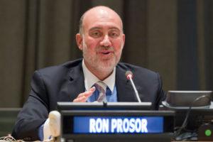 L'ambasciatore di Israele presso le Nazioni Unite, Ron Prosor