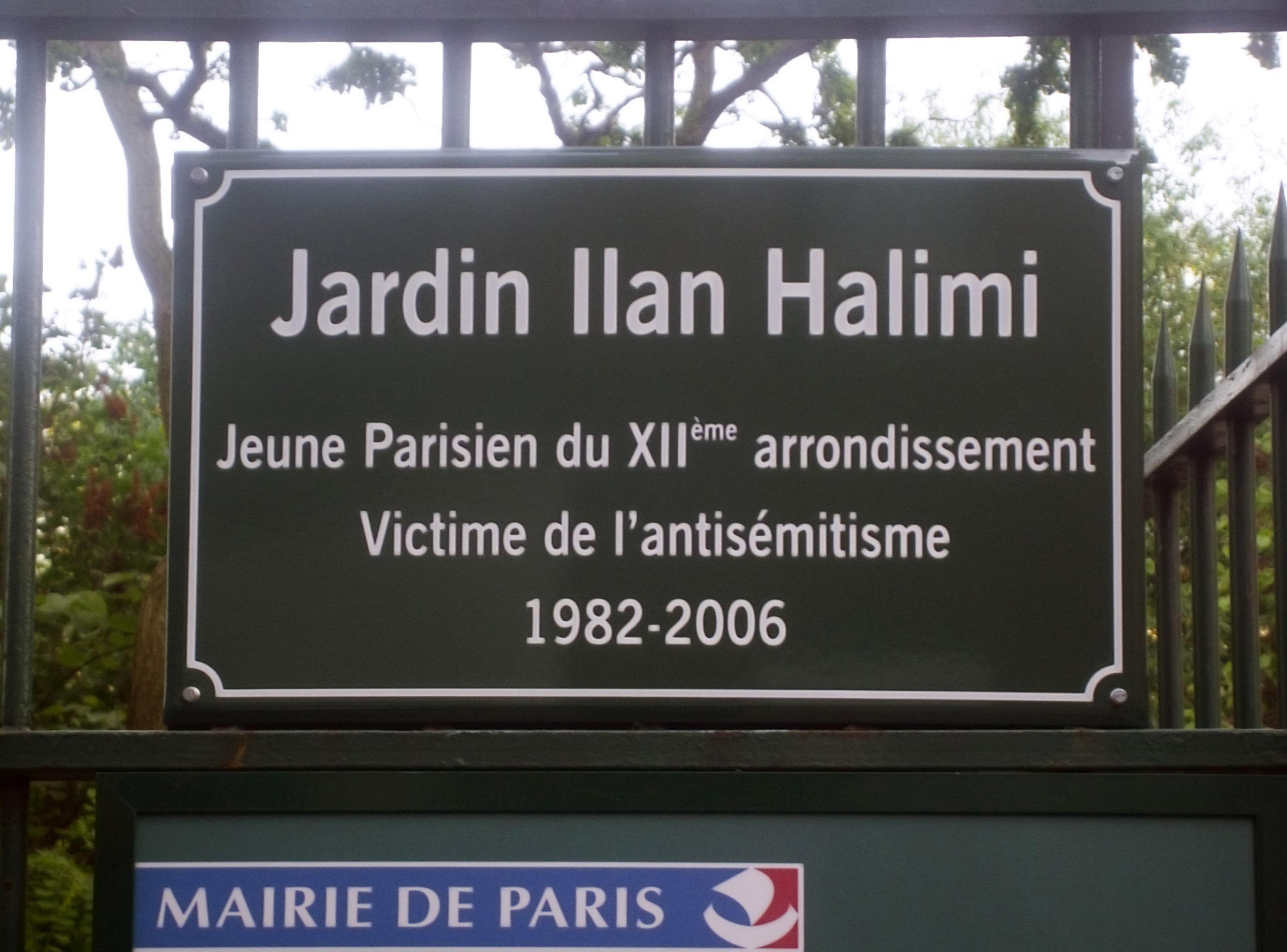 ilan halimi giardino francia antisemitismo