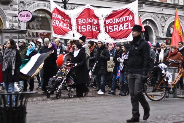 malmoe proteste antisemite