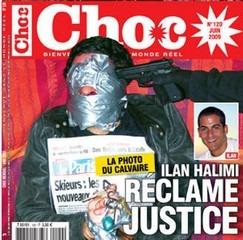 Foto pubblicata dal giornale Choc di Ilan Halimi durante i giorni del rapimento