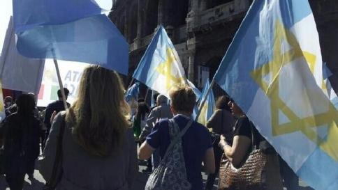 Manifestazione 25 Aprile, Brigata Ebraica