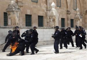 polizia monte del tempio