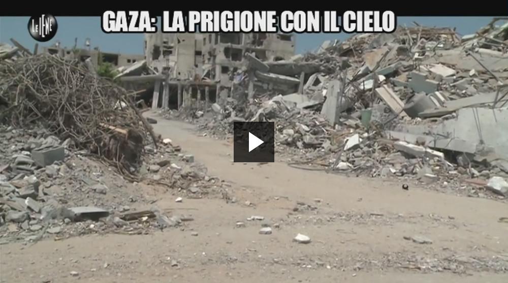Le Iene - Gaza prigione a cielo aperto