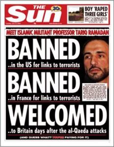 Ramadan in copertina sul giornale inglese The Sun