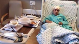 Ahmed Manasra curato nell'ospedale israeliano Hadassah