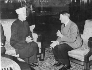 Il Gran Muftì di Gerusalemme e Adolf Hitler