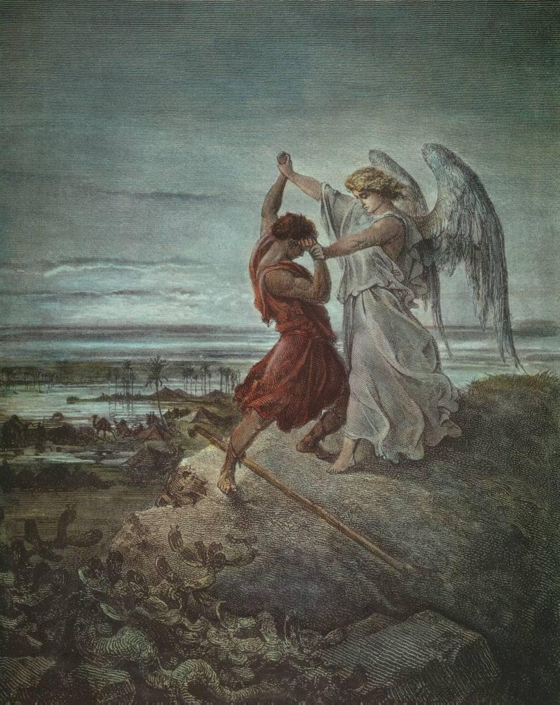 giacobbe lotta con l'angelo