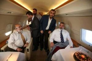 Leader Hamas jet
