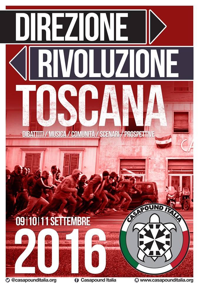 Polemiche per il raduno di CasaPound in Toscana