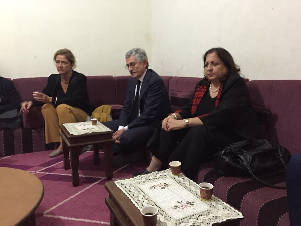 d'alema ambasciatrice palestinese