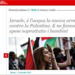 acqua-palestina-gaza-israele-fatto-quotidiano-progetto-dreyfus