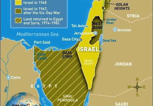 Cartina Israele Giordania.Israele E I Territori Dal Punto Di Vista Del Diritto Internazionale