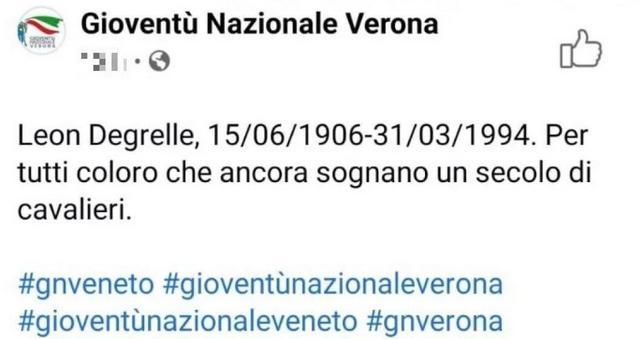 fratelli d'italia degrelle nazismo